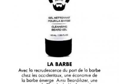 Monsieur Magazine - Beardilizer Gel Nettoyant