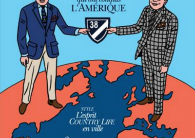 Couverture Monsieur Magazine - Oct./Nov. 2016