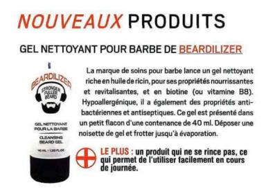 L'Eclaireur - Beardilizer Gel Nettoyant