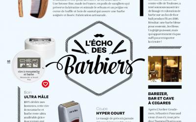 Echos Coiffure – Beardilizer Brosse et Peigne