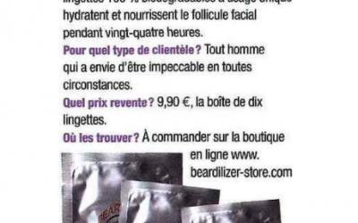Coiffure de Paris - Beardilizer Lingettes Nettoyantes