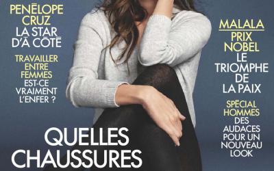 Couverture ELLE - Oct. 2014