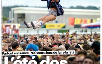 Couverture Le Parisien – Aujourd'hui en France 19.06.15