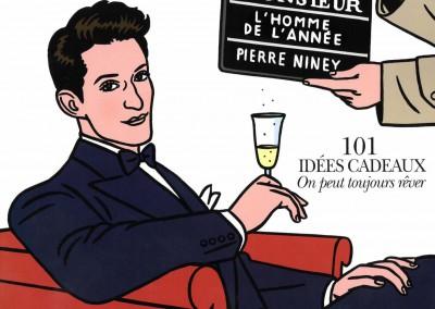 Couverture Monsieur Magazine – Déc. 2016./Janv. 2017