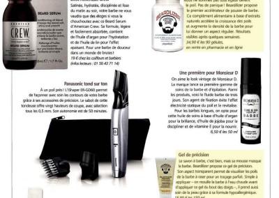 Homme Deluxe – Gel de rasage - Complément alimentaire Beardilizer