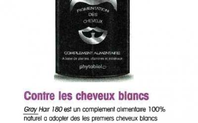 Santé Revue - Gray Hair 180