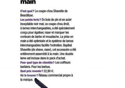 Coiffure de Paris - Shavette Beardilizer