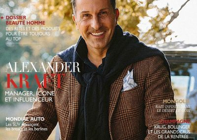 Couverture Homme Deluxe - N°54