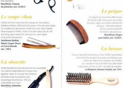 Mag'in France – Ciseaux, Shavette, Peigne Beardilizer